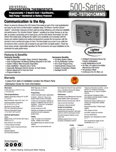 aprilaire steam humidifier installation manual